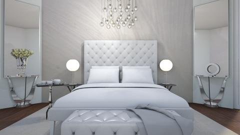 White On White - Bedroom - by raim