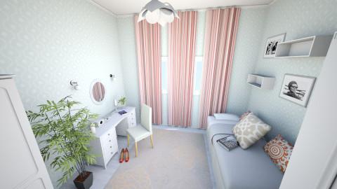 my bedroom  - Bedroom - by shzulfiya1