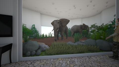 Elephant Enclosure - by CreativeCreations