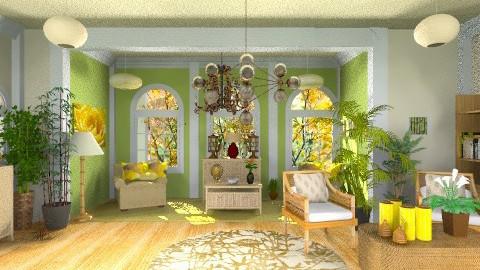 lily garden - Classic - Garden - by oliricescarraman