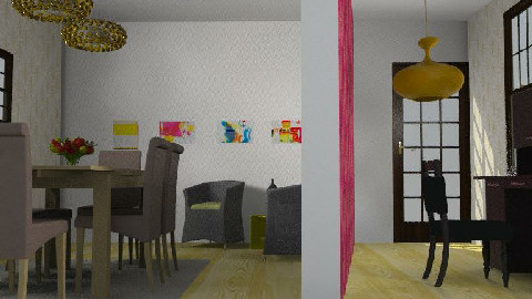 amarillito - Dining Room - by color_lover