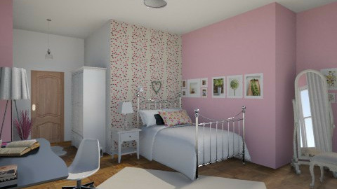 Pinkie  - Modern - Bedroom - by Amyy