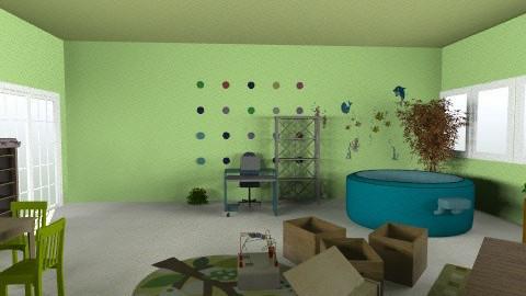 paud rusa - r1vmejabelakang - Country - Kids room - by aryantono