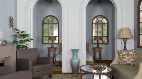 Santa Fe suite - Rustic - Bedroom - by alleypea