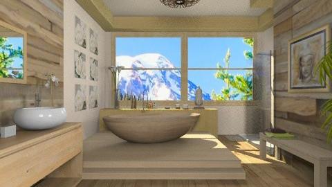 wooden - Country - Bathroom - by susilva