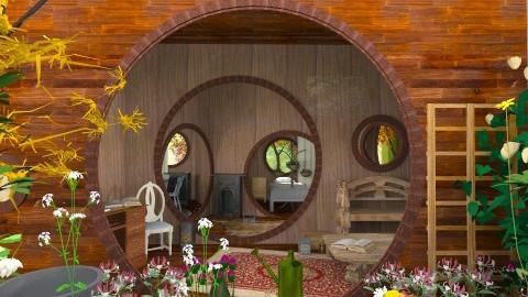 Hobbits House - Rustic - by manju_909