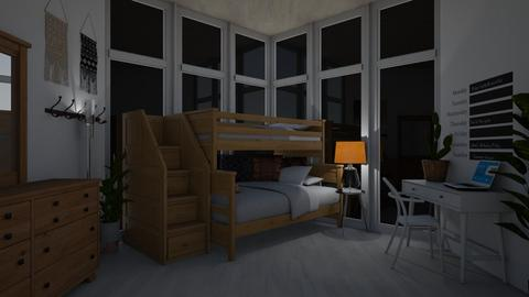 idk man - Bedroom - by emmaald