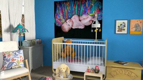Boho Baby [redox] - Vintage - Kids room - by kishwick