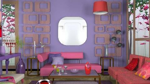 Retro - Retro - Living room - by du321