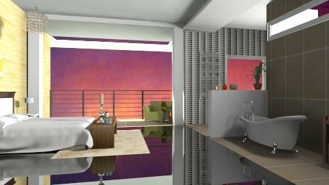 Luxury bedroom - Eclectic - Bedroom - by cready