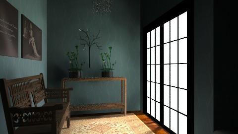 hallway - Vintage - by dancergirl1243