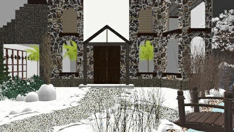 Alpine Interlude - Rustic - Garden - by Grace Powell