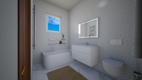 toaleta - Modern - Bathroom - by Popa Bianca Rozalia