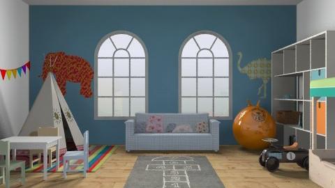 Fun Kids room - Kids room - by bethris