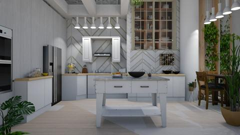 Scandinavian Kitchen - Kitchen - by Sue Bonstra