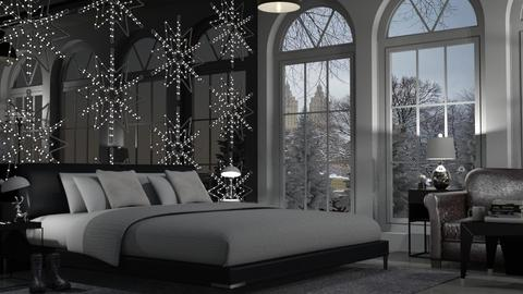 Winter Wonderland Bedroom - Bedroom - by teighmacintosh