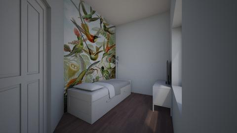 voorkamer birds lightblue - Bedroom - by TRMVM