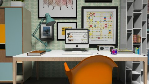 Study Color - Office - by fre82