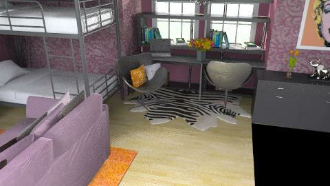 Girls Dorm Room - Modern - by emmawatson235