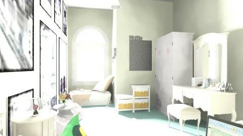 Simple Bedroom - Feminine - Bedroom - by Fitri Wirasatya