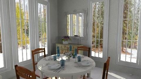 Corner dining - Vintage - Dining room - by milyca8
