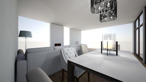 pokoj duzy - Living room - by AGATA murmi