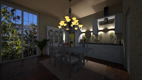 grandmom kitchen - Kitchen - by joja12345678910