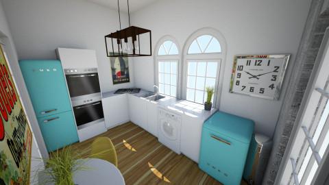 102 Bush Road - Kitchen - by rachelbbridge