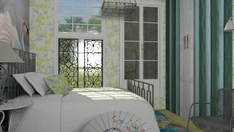 Wrought iron_romantica - Country - Bedroom - by milyca8