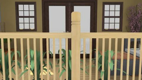 Outdoor Deck - Modern - Garden - by yankees2