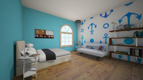 Colbys Room - Bedroom - by Megan Kndsen