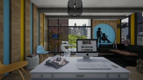 Faminine home office - Office - by Antoaneta Hristova