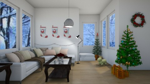 Winter Wonderland - Minimal - Living room - by millerfam