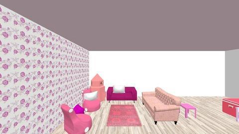 pink parade - Bedroom - by EstrEbElloh
