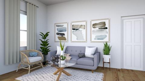 Winter Grey - Living room - by Jane Rawle