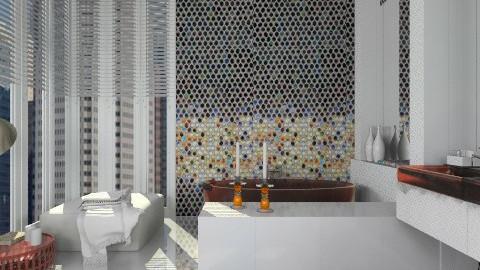 Mosaic bathroom - Modern - Bathroom - by liling