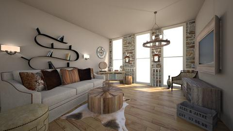 Template Living room - Rustic - Living room - by Anna Neeb