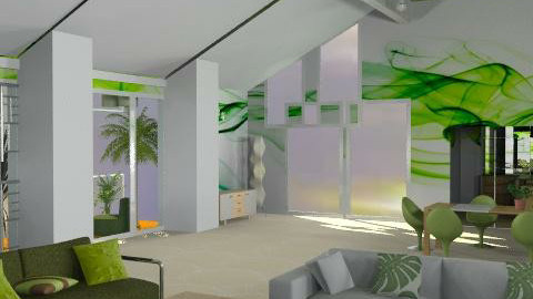 Lime Juice - Minimal - Living room - by Interiors by Elaine