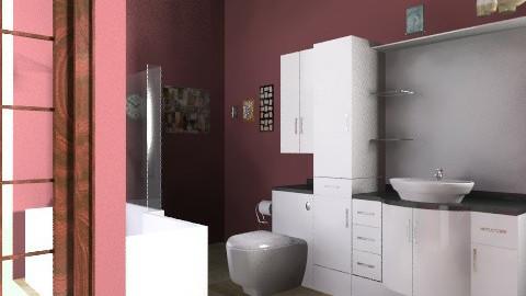 bathroom 2 - Vintage - Bathroom - by rebecca stone