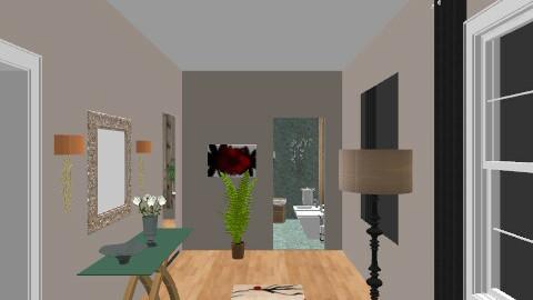 flat hallway - Glamour - by zaz11