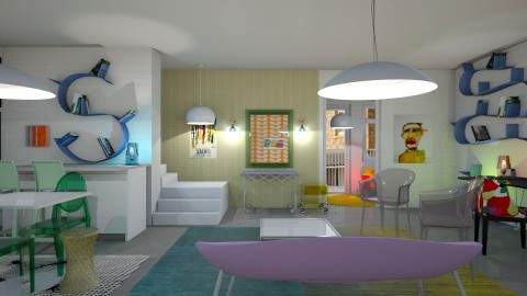 Family fun space - by The quiet designer