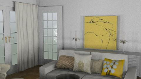 Still a white junkie - Country - Living room - by toadfool