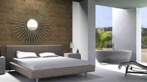 Beach Bedroom - Minimal - Bedroom - by DanaG
