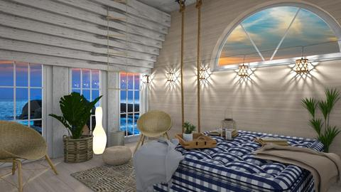 Nautical - Modern - Bedroom - by Jessica Fox