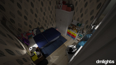 blues - Bedroom - by DMLights-user-1044826