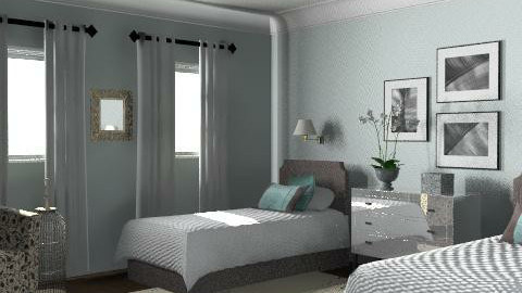 California Cottage - Guest Bedroom 2 - Glamour - Bedroom - by LizyD