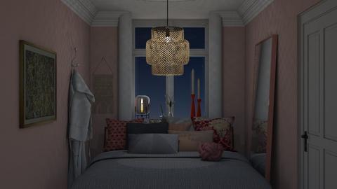 Pink Bedroom - Bedroom - by HenkRetro1960
