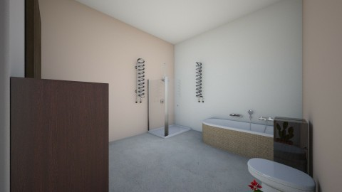 Bathroom spa - Minimal - Bathroom - by Moonlight01