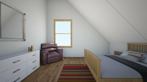 rustic attick room - Bedroom - by Cora_da_B0ss
