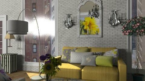 Yellow Zebra Living room - Modern - Living room - by mydeco Insider
